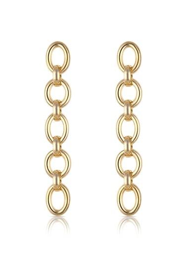 Alberto Guardiani Alberto Guardiani Ag20143Kup Zincir Jewelery Küpe Altın